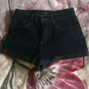 High waisted shorts forever 21